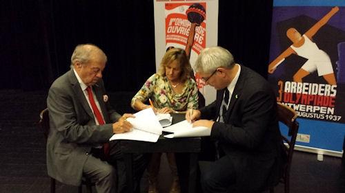 Samenwerkingsovereenkomst FROS - België en NCS